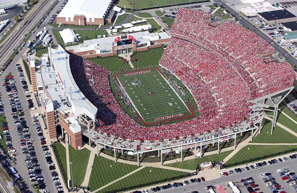 Papa John's Cardinal Stadium Expansion.