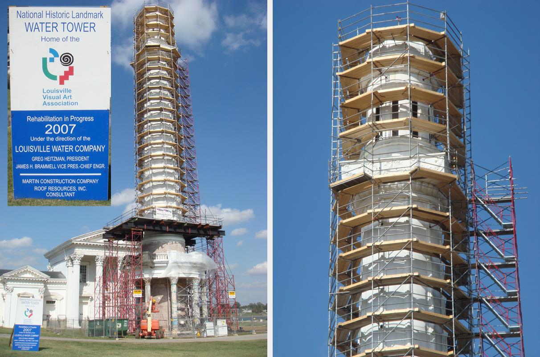 Louisville scaffold