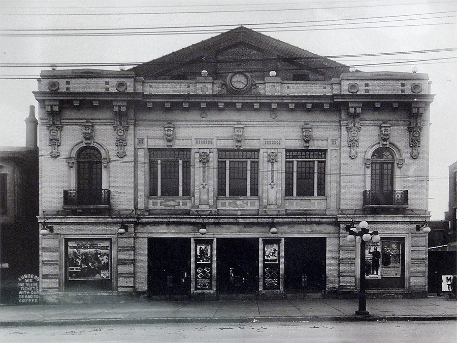 Broadway Theater Historic Photo (Courtesy ORI)