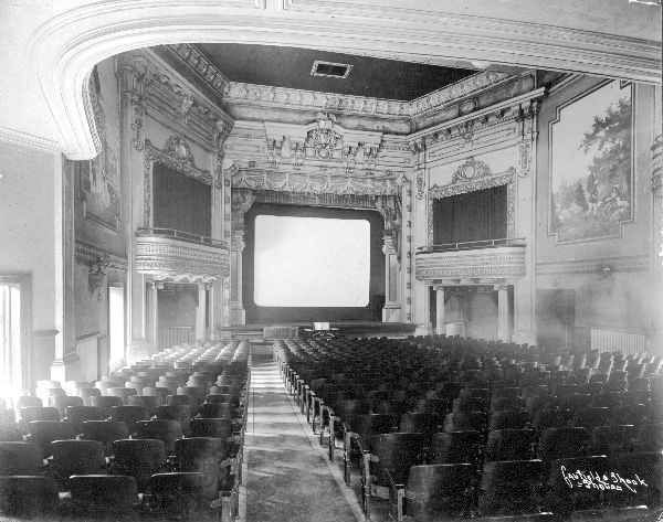 Inside the Broadway Theater (from the U of L Photographic Archives)
