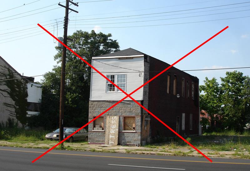Neighboring building torn down