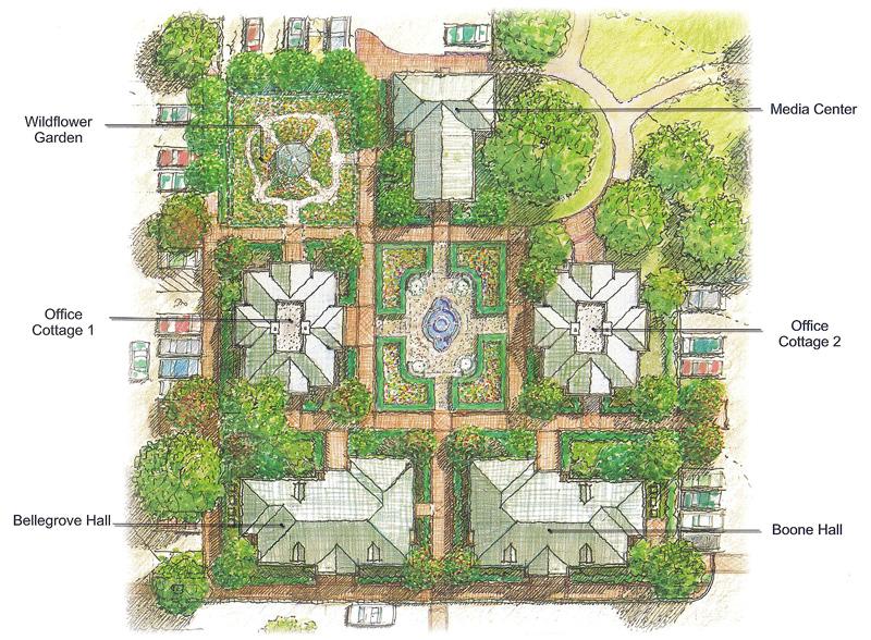 Bellegrove Executive Campus Site Plan (Courtesy Village Solutions)