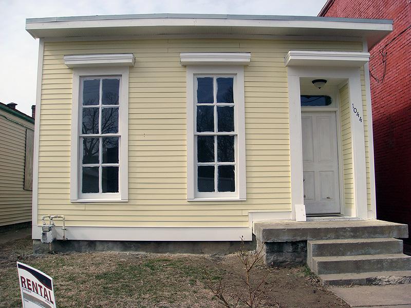 Renovated shotgun house on 7th Street