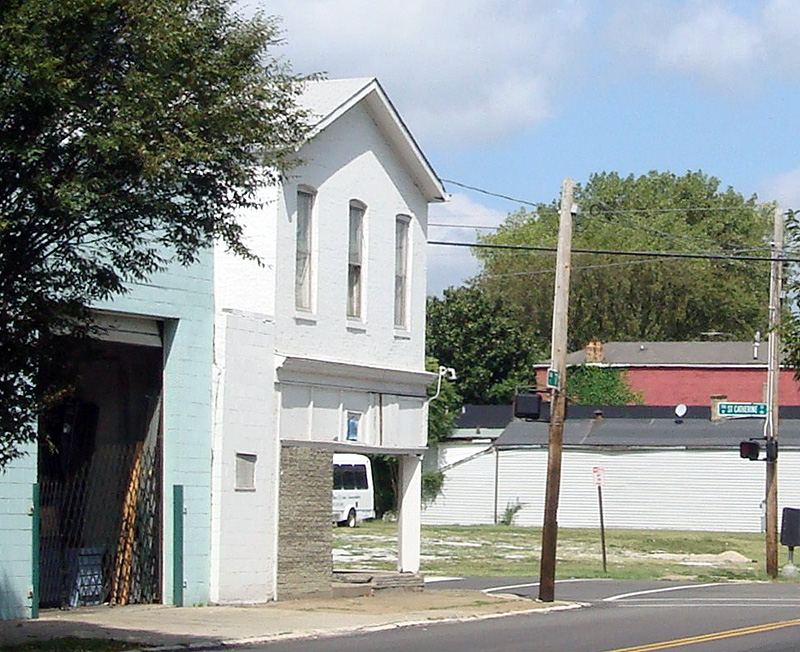 Commercial building before renovations