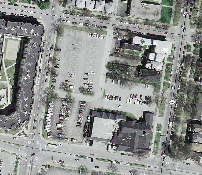 Block slated for mixed-use redevelopment