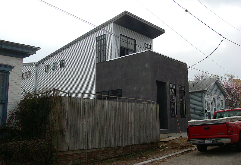 modern shotgun house could be future prototype broken sidewalk - Shotgun House Plans Modern Style