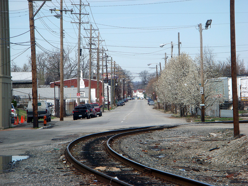 Looking down Portland Avenue from 15th Street