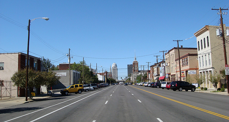 Current conditions on East Market Street (BS File Photo)