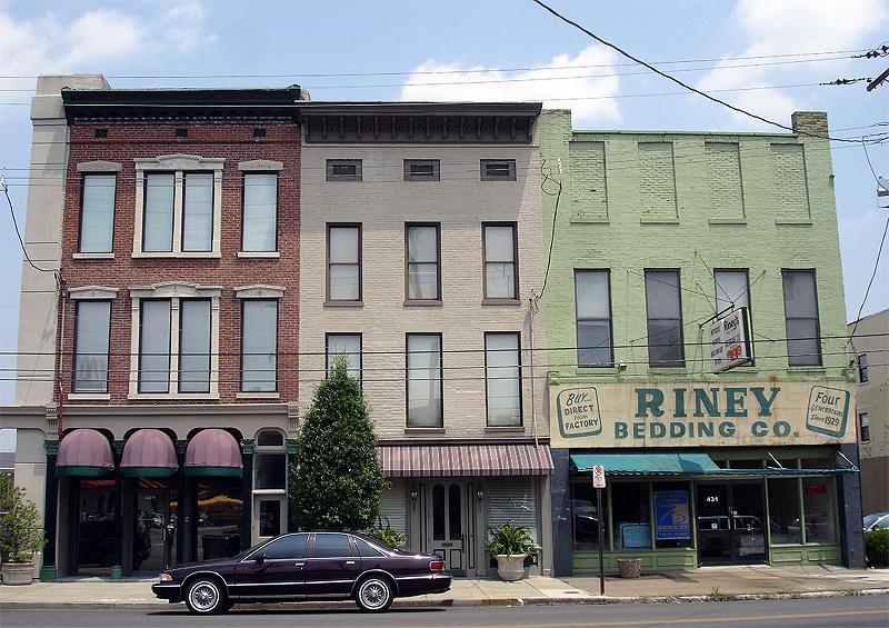 Riney Bedding on East Market Street