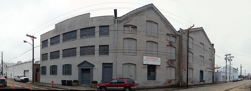 Buildings in east Smoketown