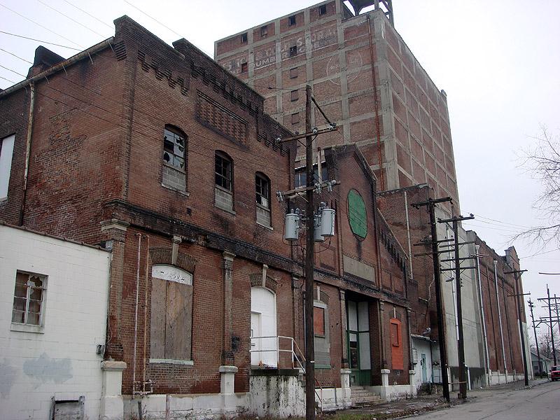 Buildings in eastern Smoketown. (Branden Klayko / Broken Sidewalk)