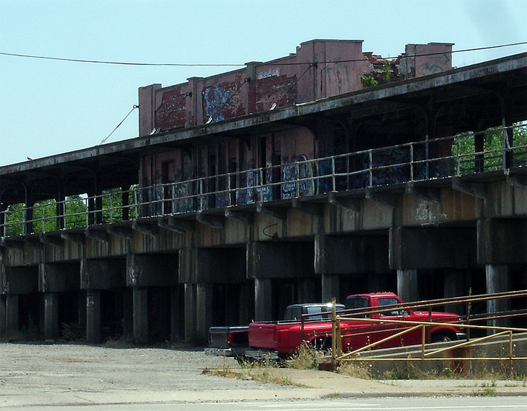 Baxter Elevated Train Station Before Demolition (BS File Photo)