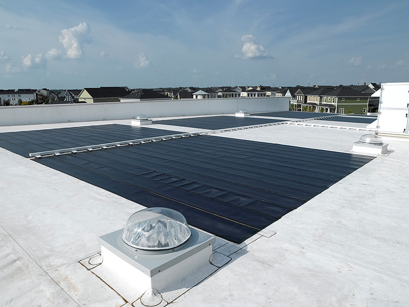 Roof of the CMTA Building (Courtesy CMTA)