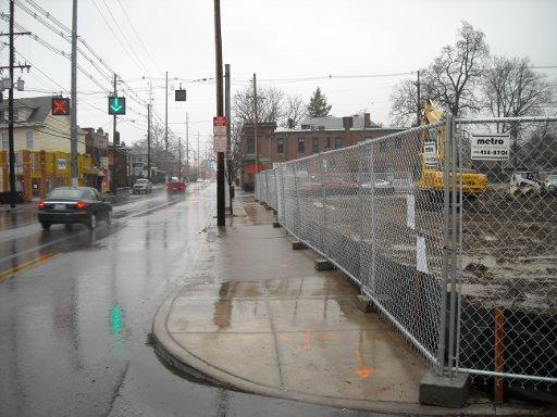 Bardstown Road Sidewalk (photo by Public Works via CART)