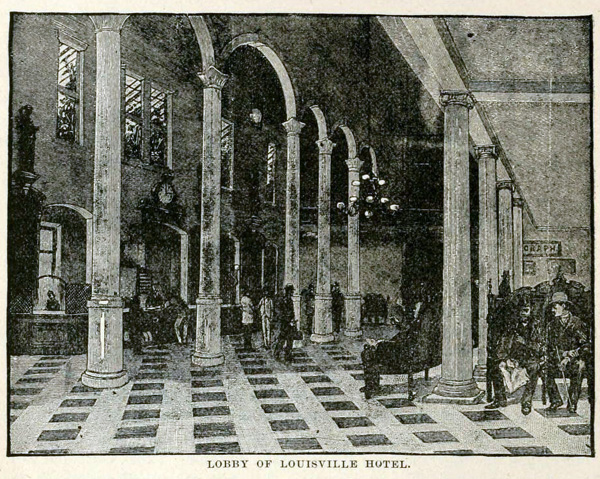 Lobby of Louisville Hotel (Industries of Louisville)