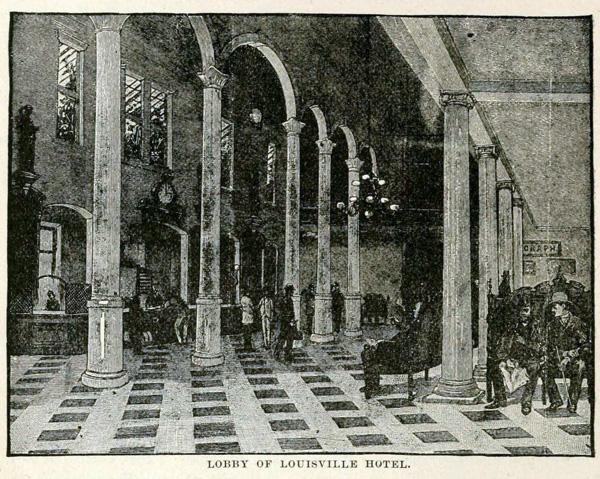 Lobby of Louisville Hotel (Industries of Louisville)