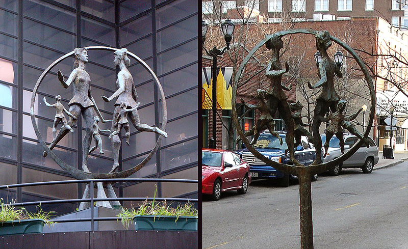The Same Statue In New York and Louisville