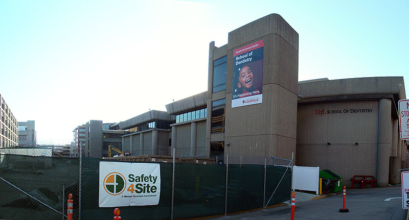 Construction Underway at the UL School of Dentistry