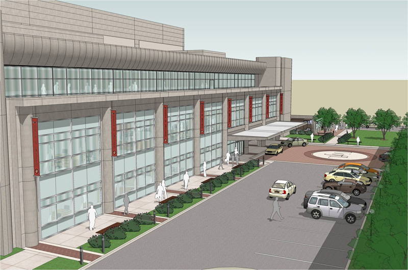 Rendering of changes to UL School of Dentistry (Courtesy U of L)