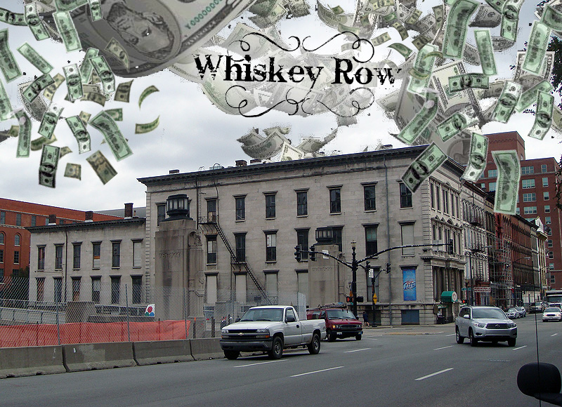Whiskey Row Lofts Lands Financing (BS File Photo)