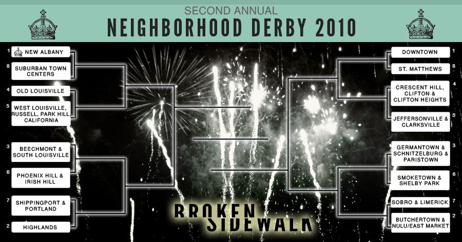 Neighborhood Derby 2010 (Click to enlarge)