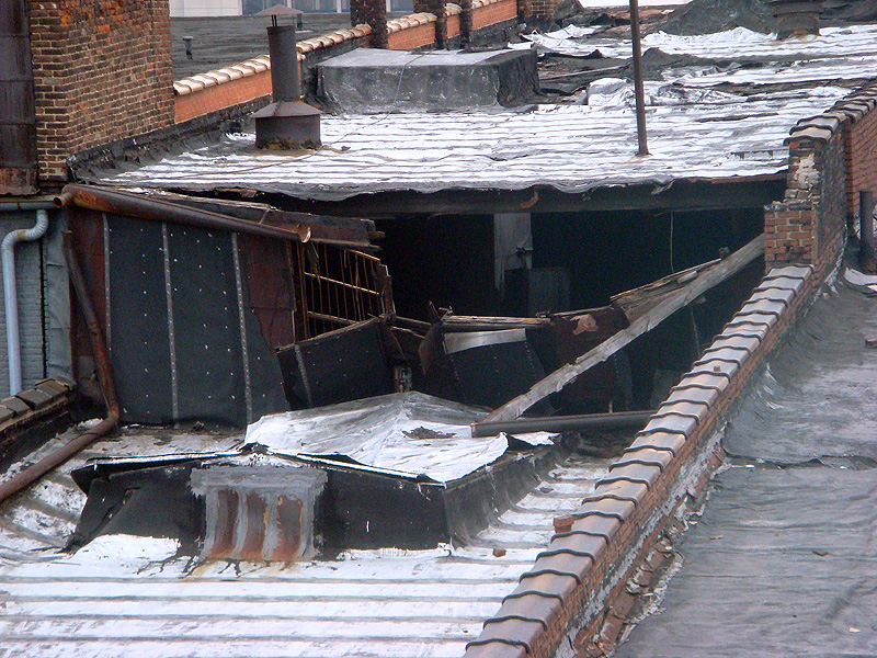 Deterioration at the Iron Quarter (BS File Photo)