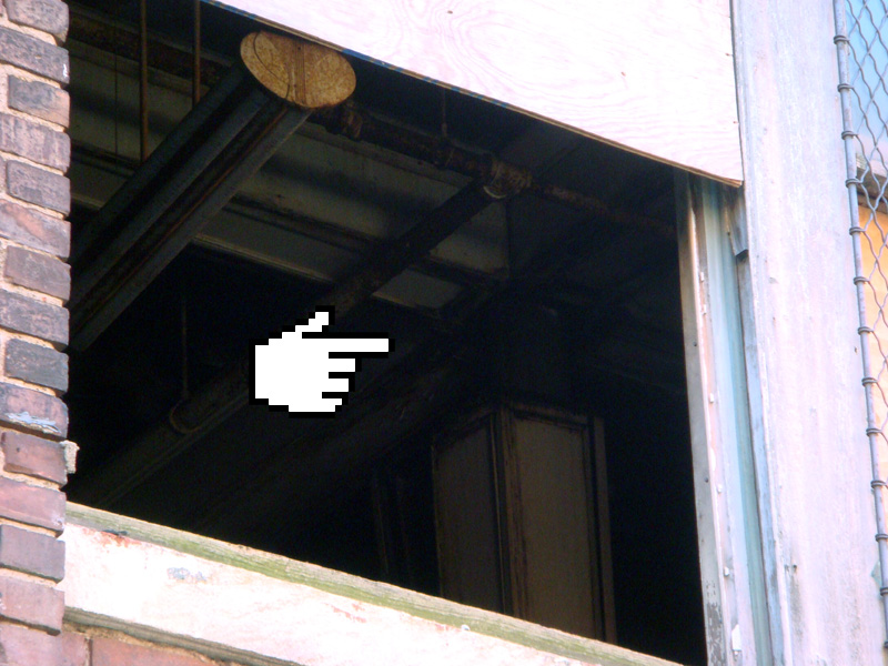 Interior details visible through open window (BS File Photo)