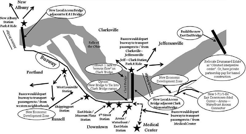 A plan for local access bridges (Courtesy Steve Wiser)