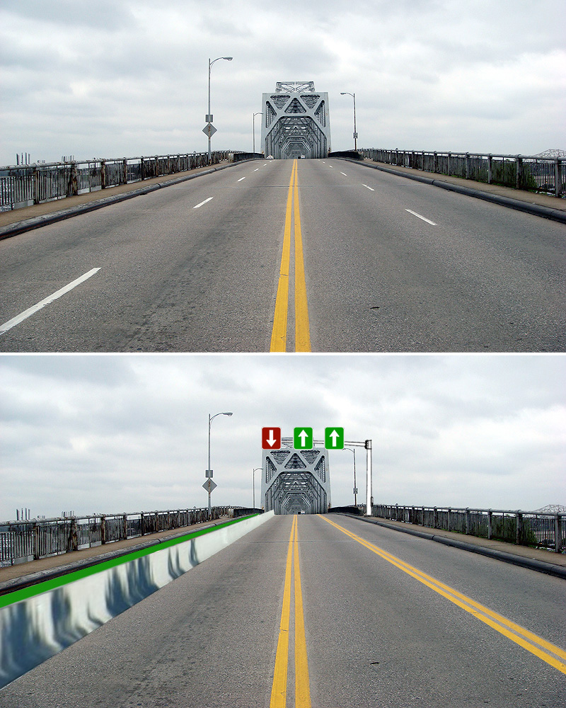 Second Street Bridge with a bike lane (BS File Photo)