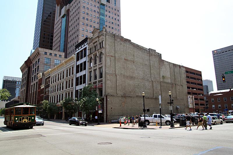 6th & Main Street today (Courtesy Diane Deaton-Street)