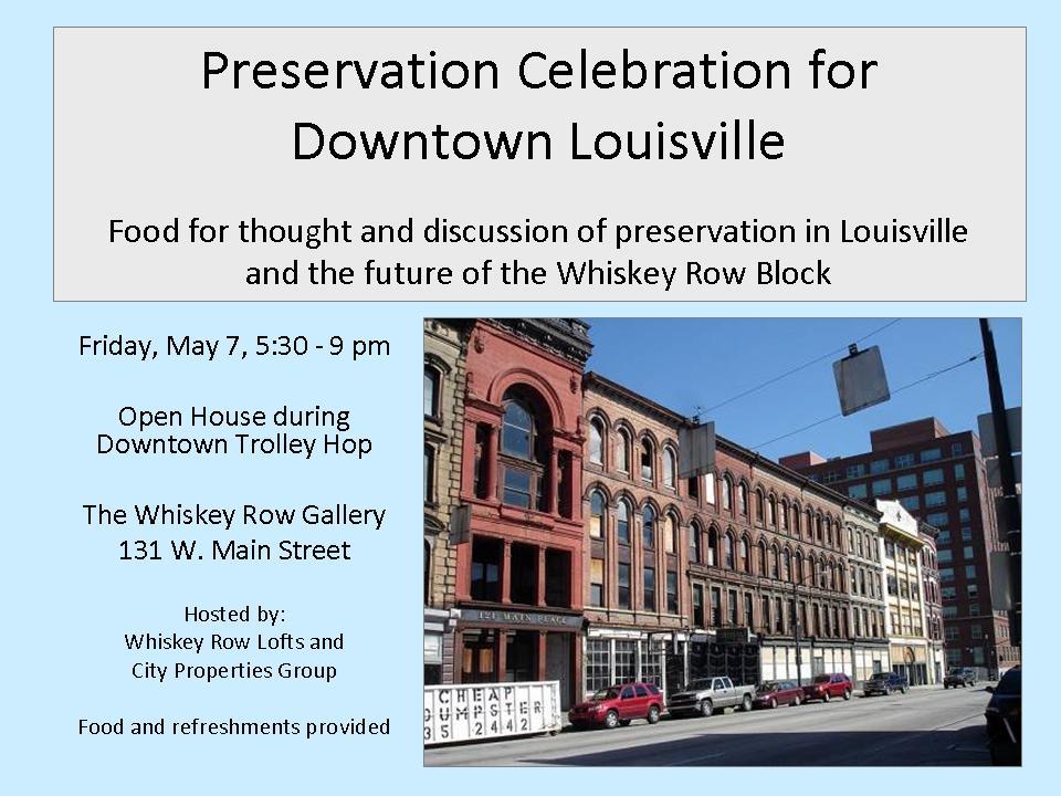 Preservation Celebration (Courtesy City Properties Group)