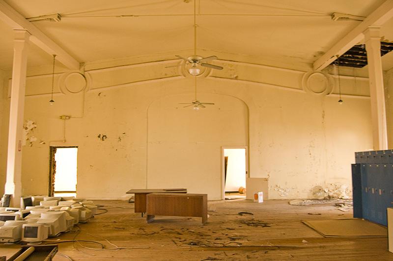 Inside an older part of the church (Courtesy Eric Schumacher)