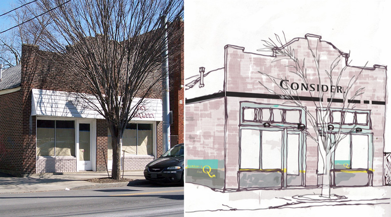 Renovation to bring back historic look on Bardstown Road (Courtesy Casey Emrich)