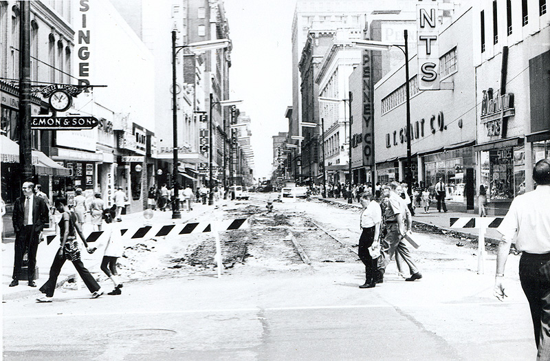 Fourth Street prepping for the River City Mall