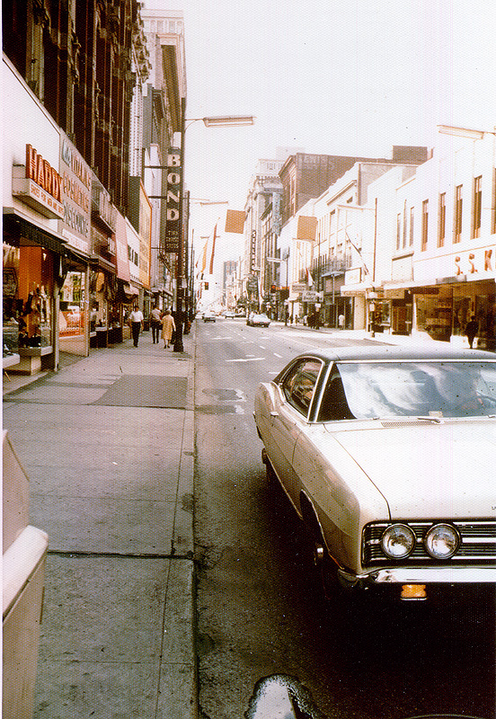 Fourth Street before the River City Mall
