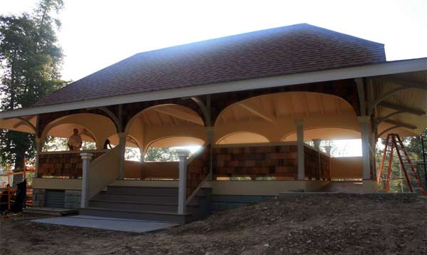 Sunnyhill Pavilion at Iroquois Park (via Olmsted Parks Conservancy)