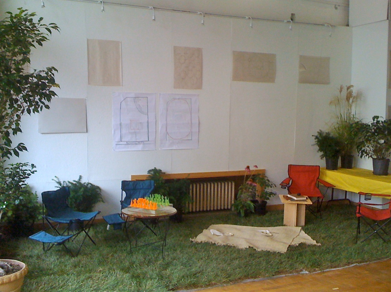 Park(ing) Day continues inside the Urban Design Studio
