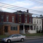 Baxter Avenue buildings before renovations (BS File Photo)