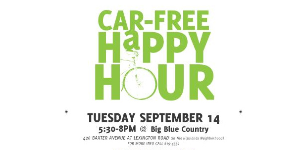 Car Free Happy Hour