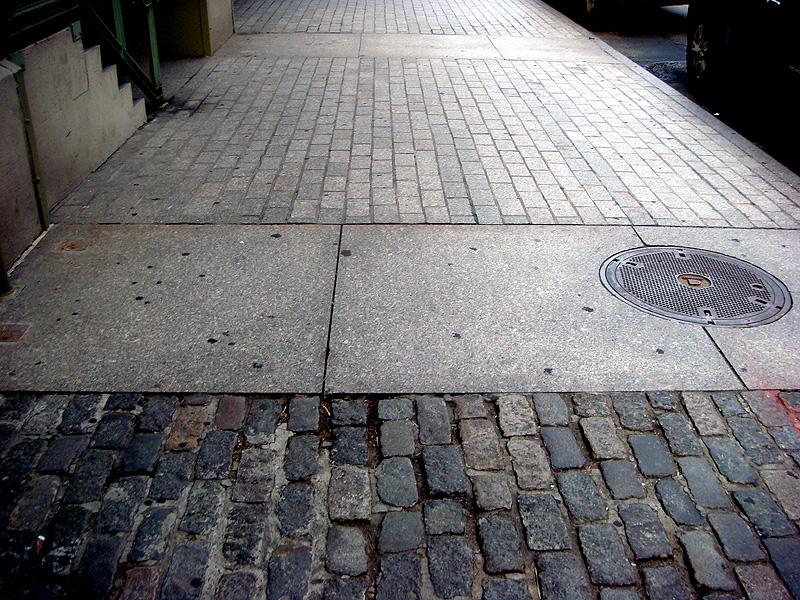 Cobblestone streets of New York City (BS File Photo)