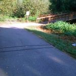 Bike traffic counter on Beargrass Creek trail (Courtesy tipster)