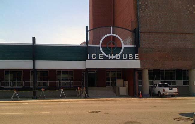Ice House Lofts progress (photo courtesy tipster)
