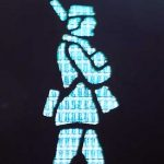 Pedestrian symbol from Fredericia