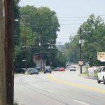 Current conditions at Brownsboro Road (Broken Sidewalk)