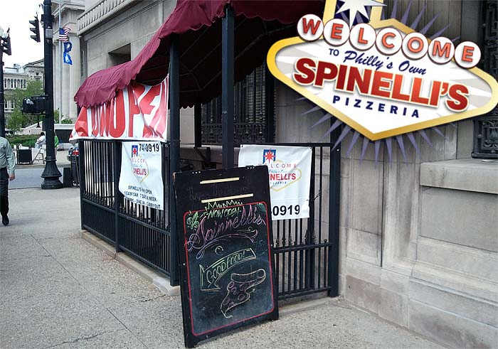 Spinelli's Pizzeria now open on Fifth and Jefferson streets (Courtesy @Downtown_Lou)