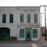 300 block of East Main Street in 2003 (Broken Sidewalk)