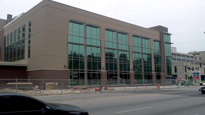 Norton Radiation Center under construction on Broadway (Courtesy Tipster)