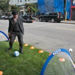 PARK(ing) Day spot in San Francisco. (Courtesy Steve Rhodes / Flickr)