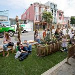 PARK(ing) Day spot in San Francisco. (Courtesy iomarch / Flickr)