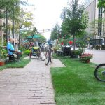 PARK(ing) Day spot in Indianapolis. (Courtesy Dan O'Connor / Flickr)